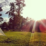 Camping always guarantees more than five stars. Source: Instagram User cjordanr