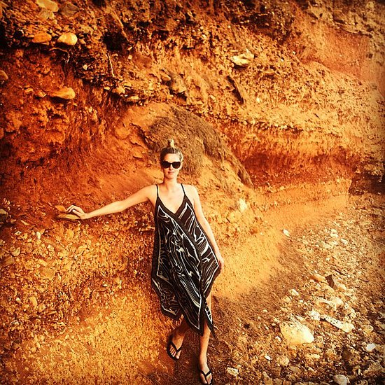 Nicky Hilton shared this cool snap from Summer vacation in Greece. Source: Instagram user nickyhilton