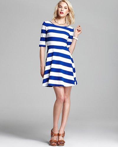 FRENCH CONNECTION Dress - Fun Stripe Jersey
