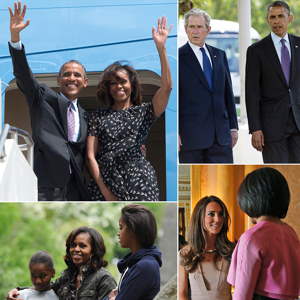 The Obamas' Many Overseas Adventures