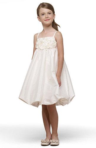 Us Angels Taffeta Rosette Bubble Dress (Toddler, Little Girls & Big Girls)