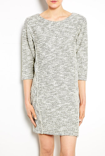 See by Chloé Two-tone Cotton Sweatshirt Dress