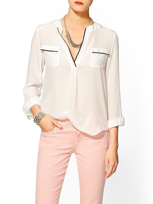 This slouchy Zoa top ($79, originally $99) is the next step for a white-button-down lover.