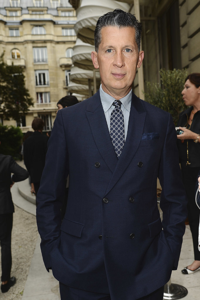 Stefano Tonchi at the unveiling of the Bulgari Diva fine jewelry collection in Paris.  Photo courtesy of Bulgari