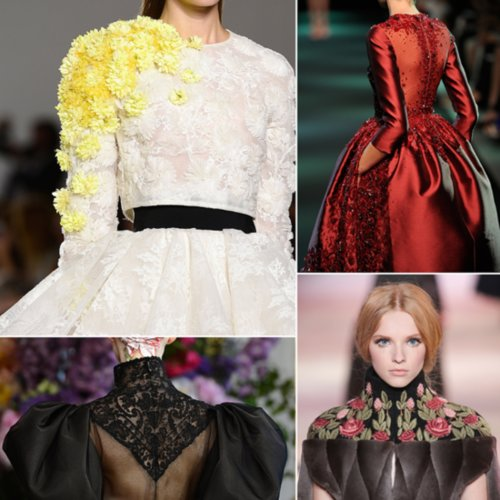 Fall '13 Haute Couture Week Details: Dior, Chanel, Valentino