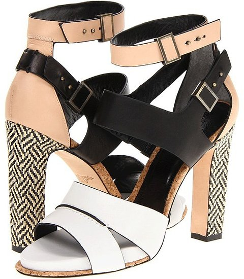 Rachel Roy - Fawn (White/Black/Natural) - Footwear