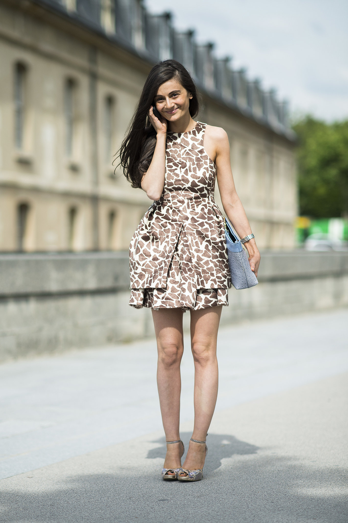 Animal Print Executed With A Sophisticated Edge 54 Can 39 T Miss Street Style Inspirations From