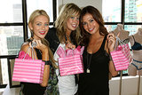 Stephanie Pratt, Holly Montag, and Stacie Hall picked up goodies at an NYC Victoria's Secret store in September 2009.