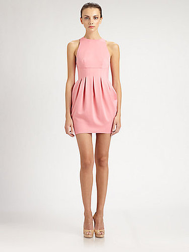 ABS Inverted Pleat Dress