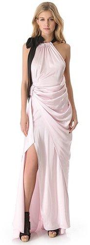 Vionnet Long Halter Dress