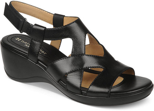 Naturalizer Shoes, Tanner Wedge Sandals