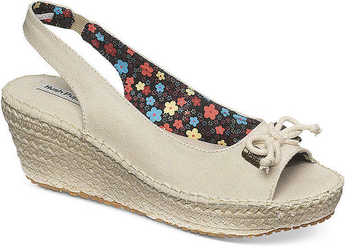 Hush Puppies Women's Shoes, Junie Sling Back Espadrille Platform Wedge Sandals