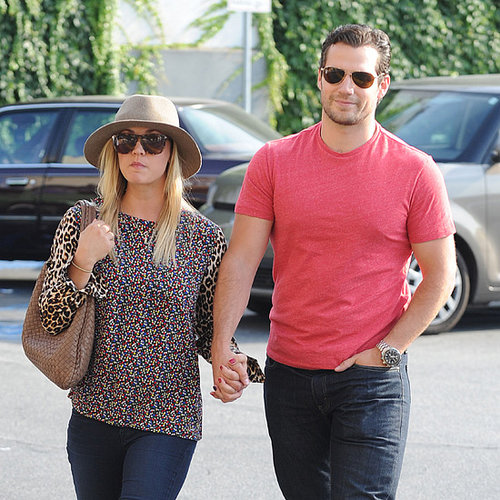 Henry Cavill and Kaley Cuoco Holding Hands in LA Pictures