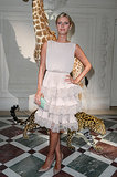 Nicky Hilton attended the Valentino show on Wednesday.