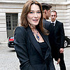 Carla Bruni Talks About Meeting the Queen