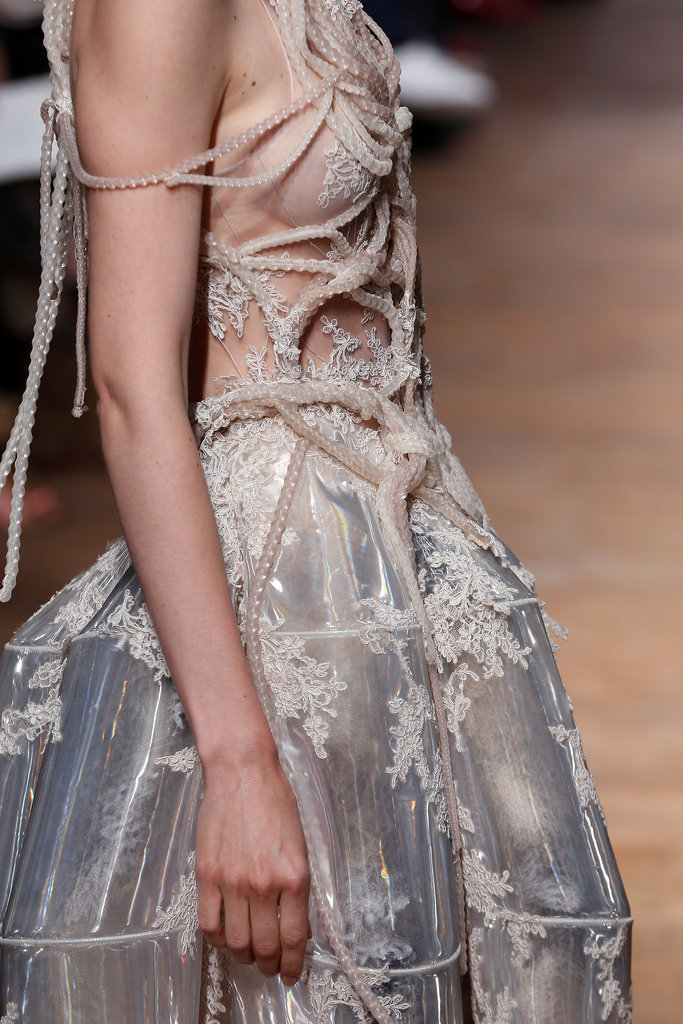 Yiqing Yin layered on the details for this alluring look.