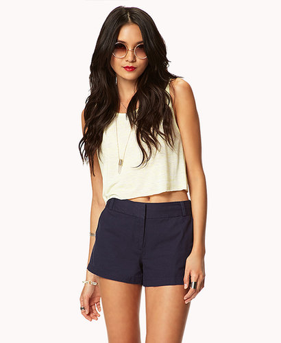 FOREVER 21 Essential Twill Shorts