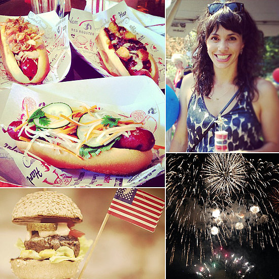 How Food Stars Rang in the Fourth of July