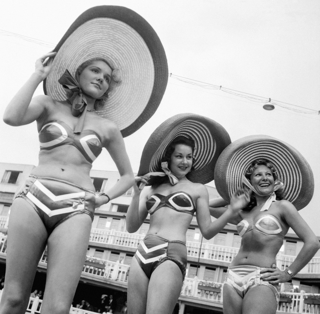 Popular Two-Pieces, 1950s