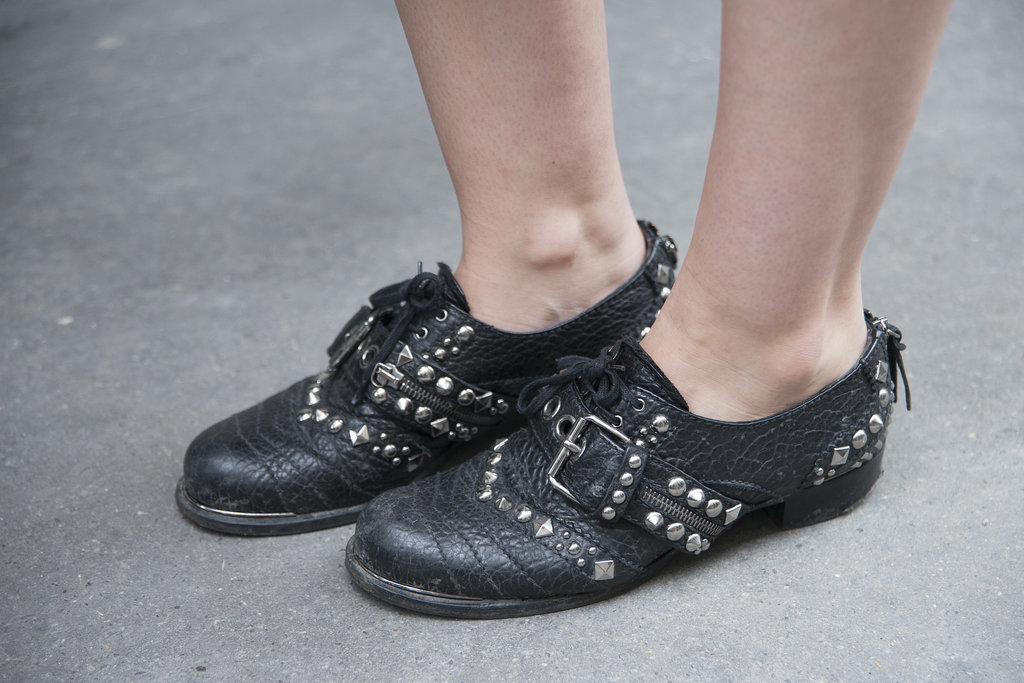 The tough-girl's brogues of choice.