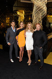 Didier Cohen, Jennifer Hawkins, Charlotte Dawson and Alex Perry