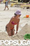 Heidi Klum Rocks a Bikini and Braids in the Bahamas