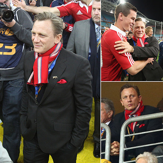 Daniel Craig Sneaks Into Sydney for British Lions Decider