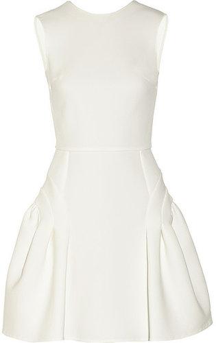 Miu Miu Open-back cady dress