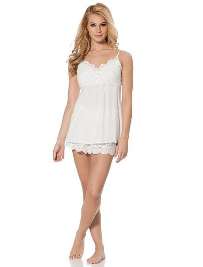 With deep buttons and lightweight fabric, the Jessica Simpson babydoll nursing set ($30, originally $42) is the perfect pajama option for warm Summer nights.