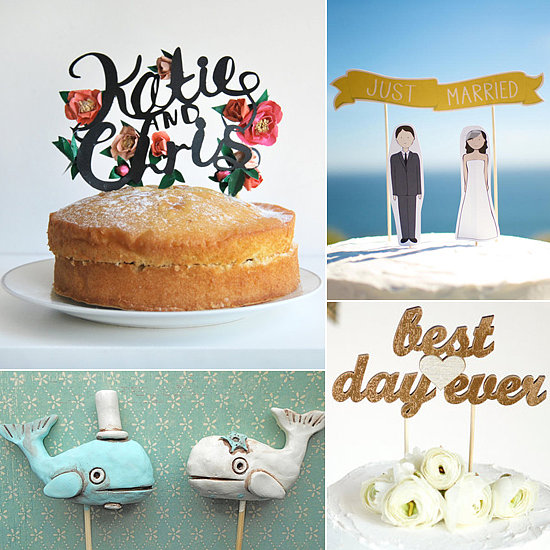 Etsy Cake Decor : Wedding Cake Toppers from Etsy! The Havenly Blog