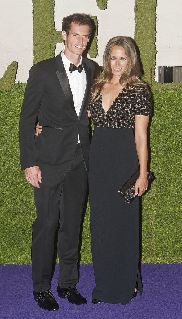 After bringing home the trophy, Andy Murray joined a Burberry-clad Kim Sears to celebrate his Wimbledon win.