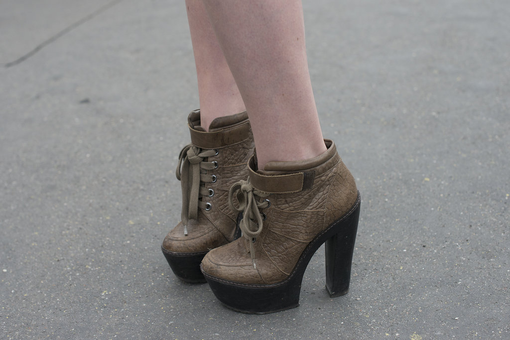 Proof that ankle boots are year-round appropriate.