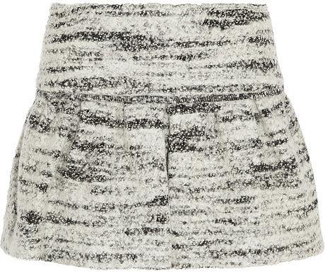 Isabel Marant Itamy bouclé mini skirt