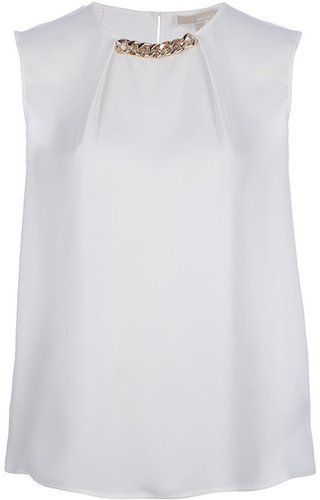 Michael Michael Kors chain detailed blouse