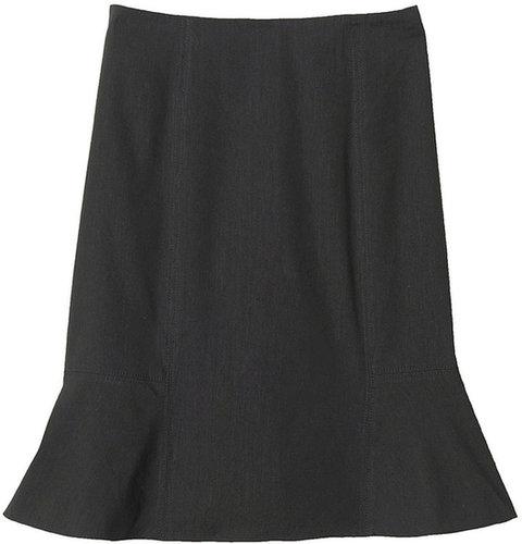 Stretch Linen Skirt