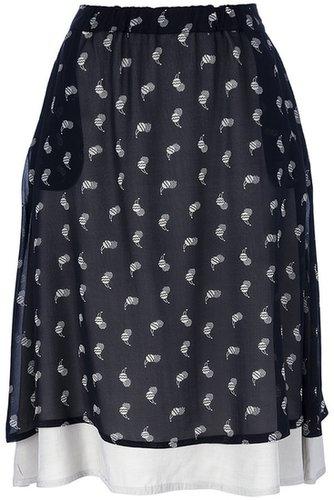 Société Anonyme cherry print skirt