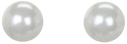 LAUREN Ralph Lauren - 6MM Pearl Studs (White) - Jewelry