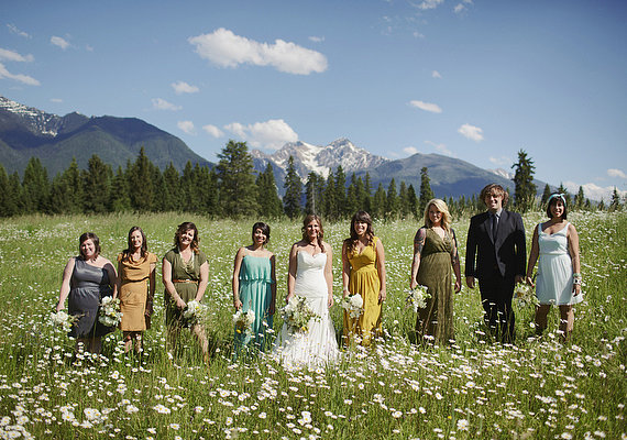Pick the Wedding Party You Want