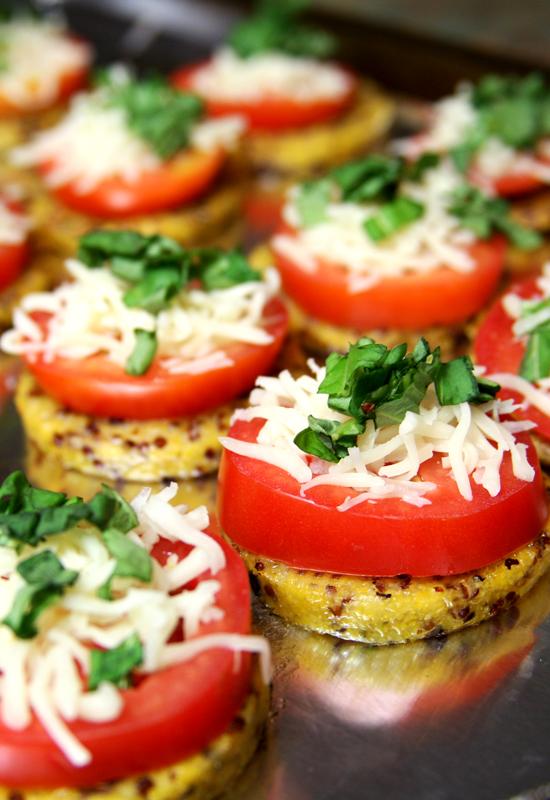 Polenta With Tomatoes And Mozzarella Recipes — Dishmaps