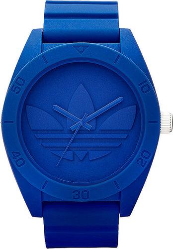 adidas Originals 'Santiago XL' Silicone Strap Watch