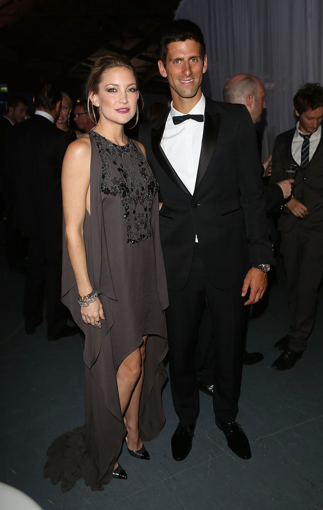 Novak Djokovic's foundation hosted the gala dinner in London.