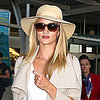 Rosie Huntington-Whiteley Lands in Australia For Model Co