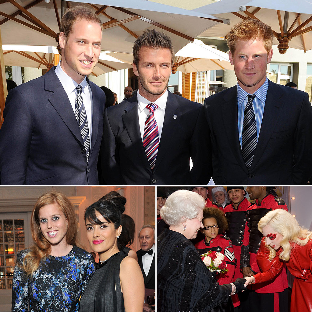 When Worlds Collide: Celebrities Meet the Royals