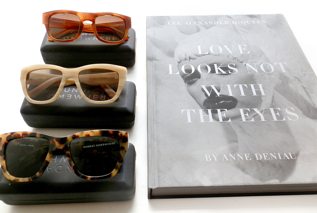 Fashion books are the ultimate wardrobe/home props and great to flick through when sourcing inspiration. SUNDAY SOMEWHERE is on of my favourite eyewear brands. Designed in Australia, they're beautifully crafted classic and modern frames I enjoy wearing during the spring/summer season.