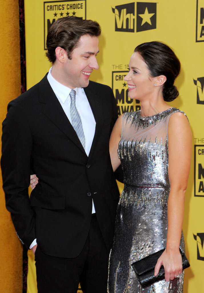 John and Emily only had eyes for each other at the Critics' Choice Awards in Jan. 2010.
