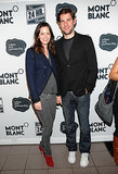 The couple went casual for the Broadway event in NYC in Nov. 2009.