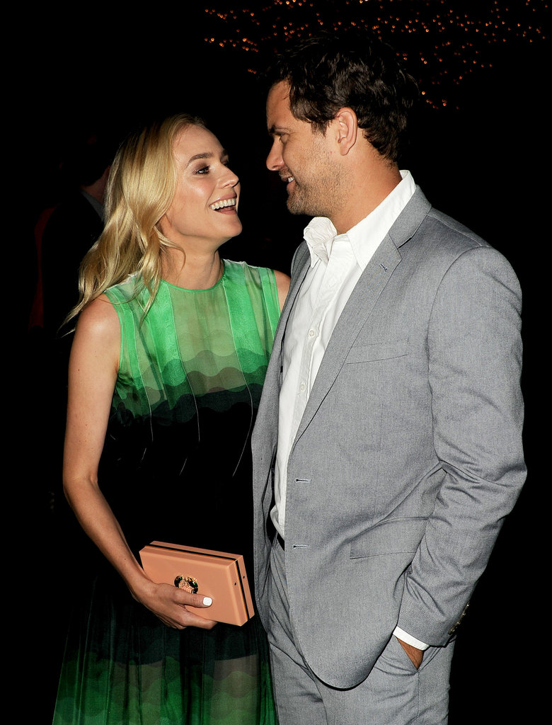 Diane Kruger and Joshua Jackson hit the red carpet together in LA.