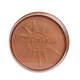 Never worry about your bronzer melting down your face midday with Rimmel London Natural Bronzer ($4, originally $5).