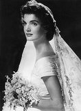 Always a classic, Jackie Kennedy's off-the-shoulder Ann Lowe gown would be just as stylish today as it was when she married JFK in 1953.