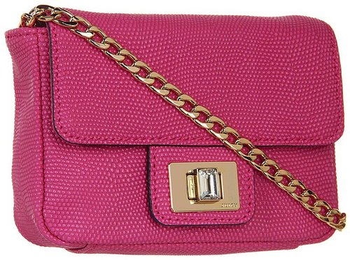 Juicy Couture - Mini G Emblazon Leather (Pink) - Bags and Luggage